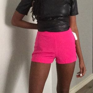 Lush Shorts - Pink Casual Shorts